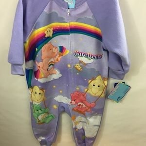 2 for $30 Care Bears P J 3T Girls Purple 💕RARE🌈